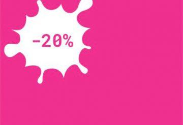 20% popust za vse spletne nakupe