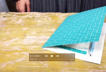 Make a Notebook from Pencil Packing - Video
